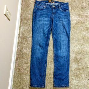 Kut From The Kloth Straight Leg Jeans Sz 6